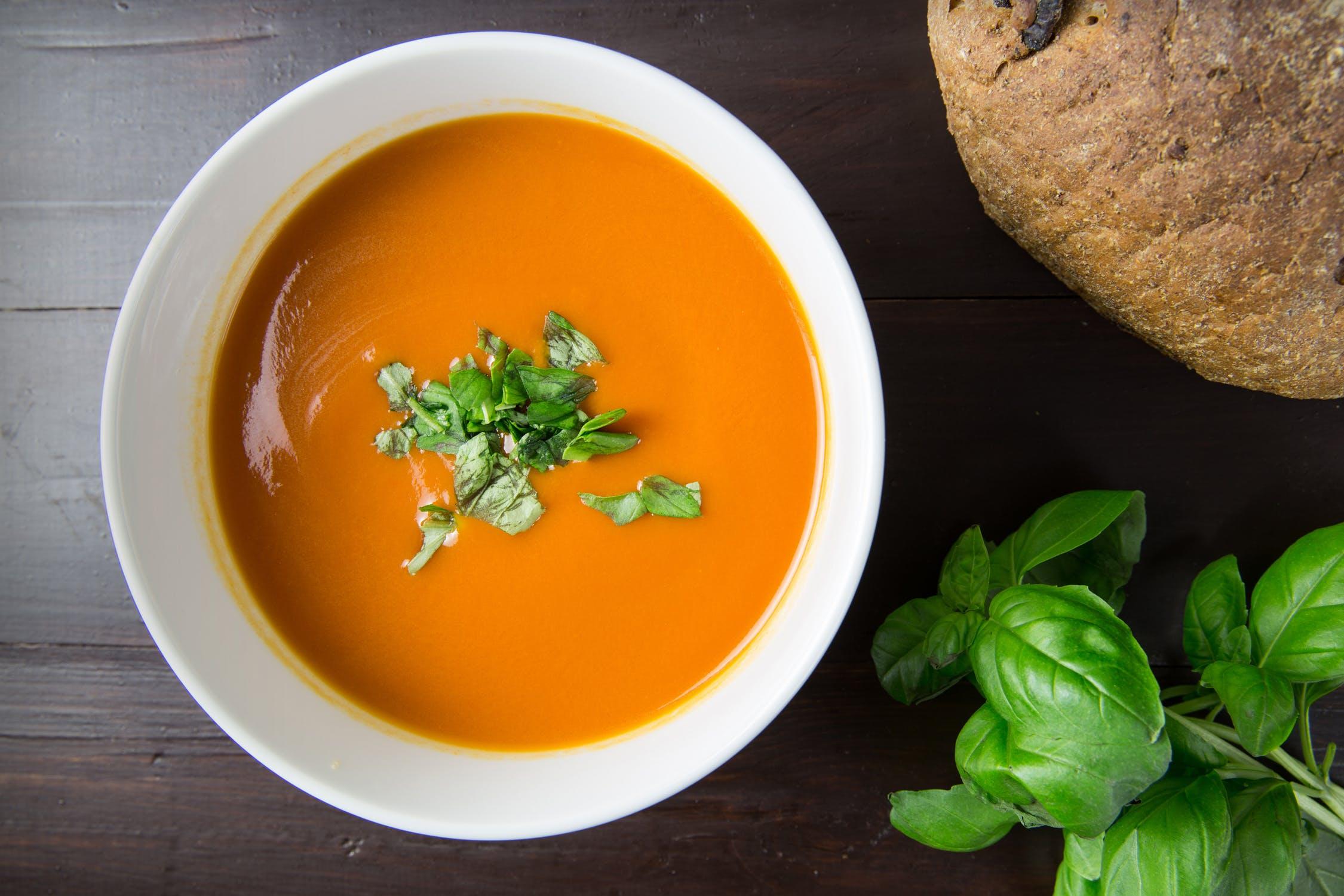 Supa-crema de dovleac – culoare si savoare intr-un bol cu supa!