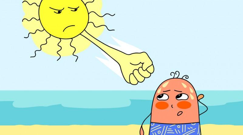 Remedii naturale in insolatii si arsuri solare